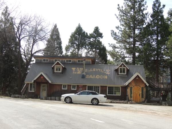 Vieux saloon dans le parc des forêts de séquoias
