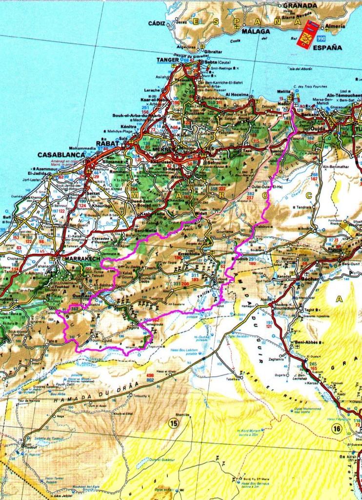 Image trace Maroc 2016