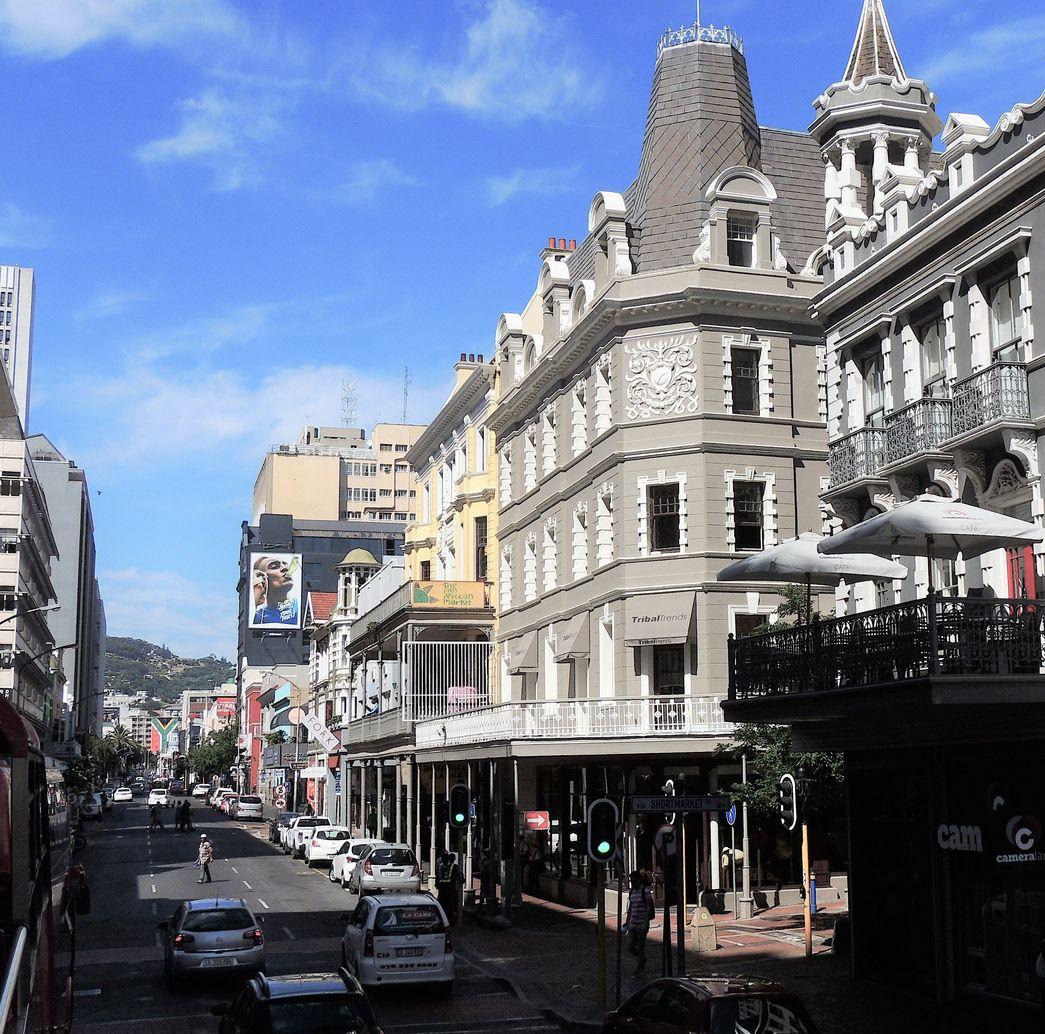 Long Street, l'une des plus anciennes rues du Cap