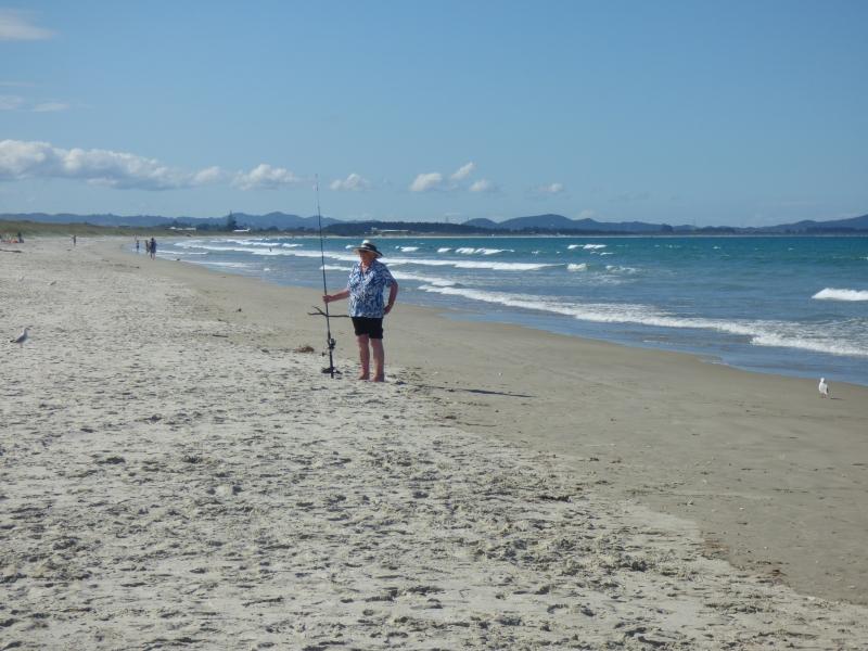 25 La plage de nootre camp du 25-02