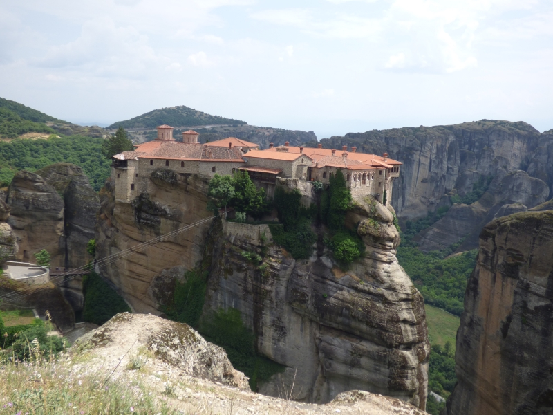 03 L'un des monastère des Météores