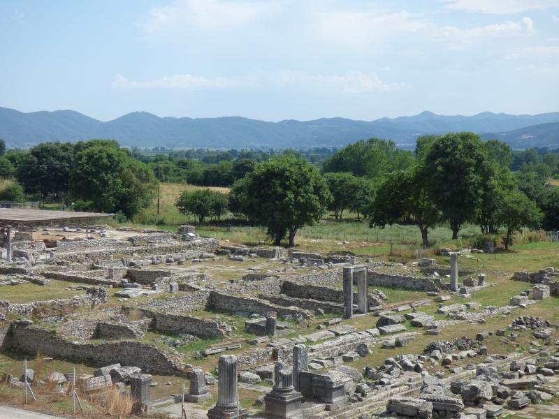12 Les ruines de Philippi