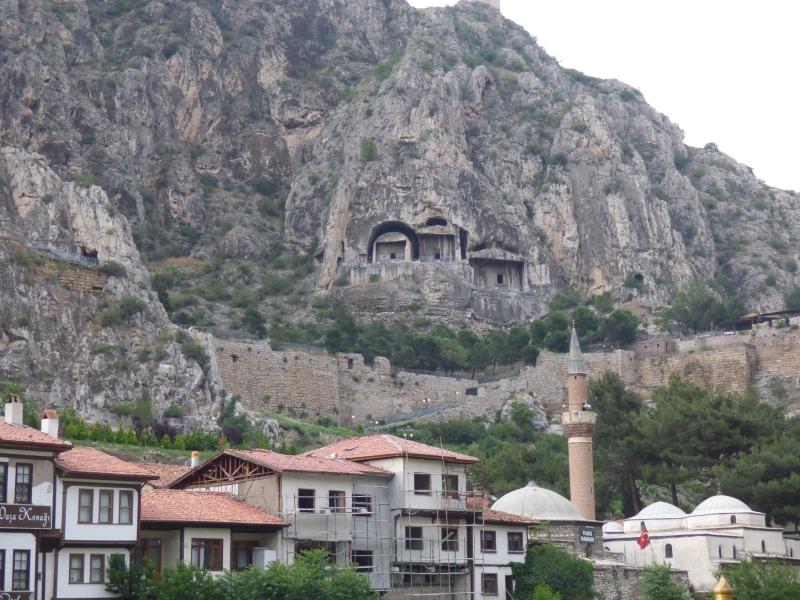 30 Les tombeaux dans la falaise d'Amasya