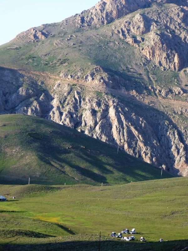 607 Le cadre de notre bivouac à 2800 m
