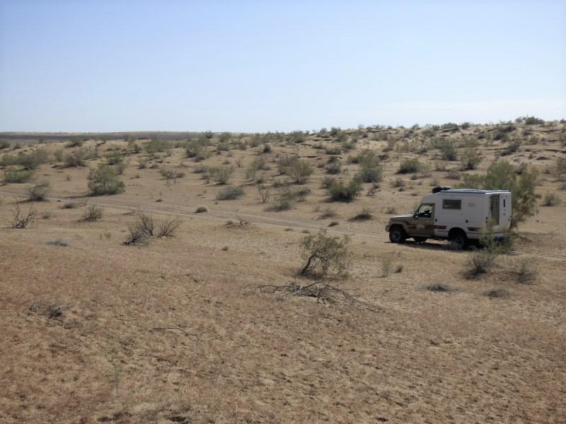 644 La piste du Karaqum