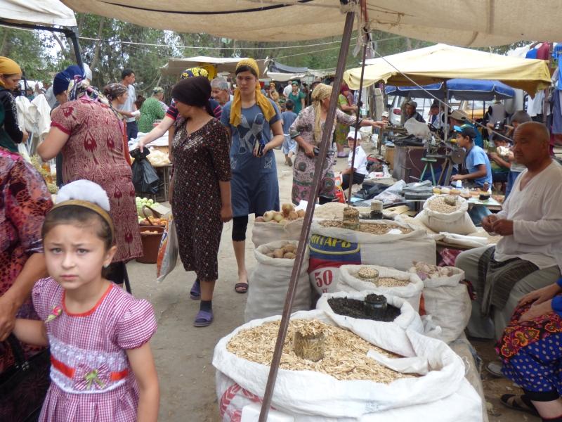 662 Le marché de Khiva