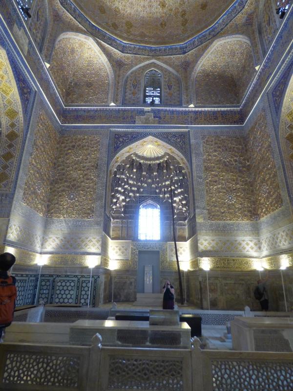 713 Le mausolée de Tamerlan