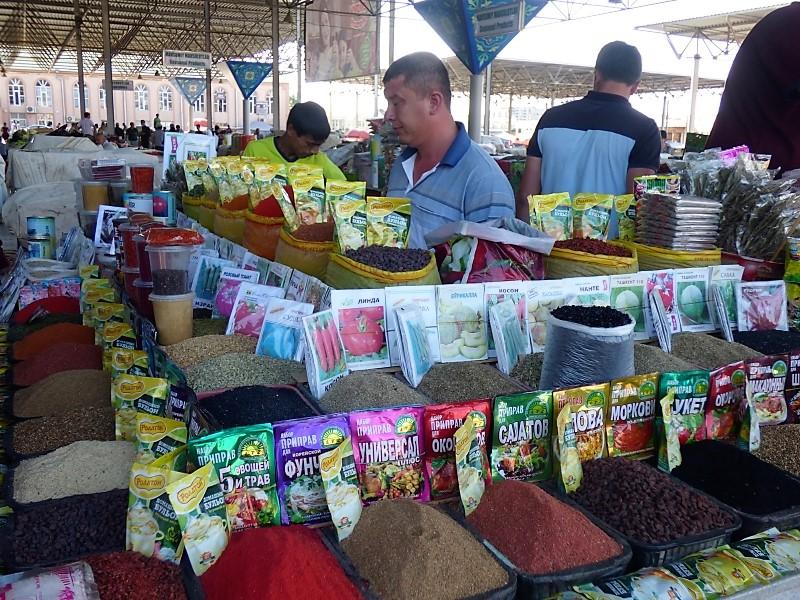 730 Le marché de Samarkand