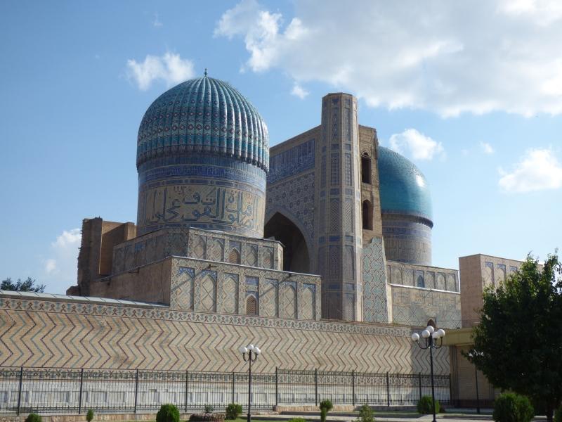 731 La grande mosquée de Samarkand