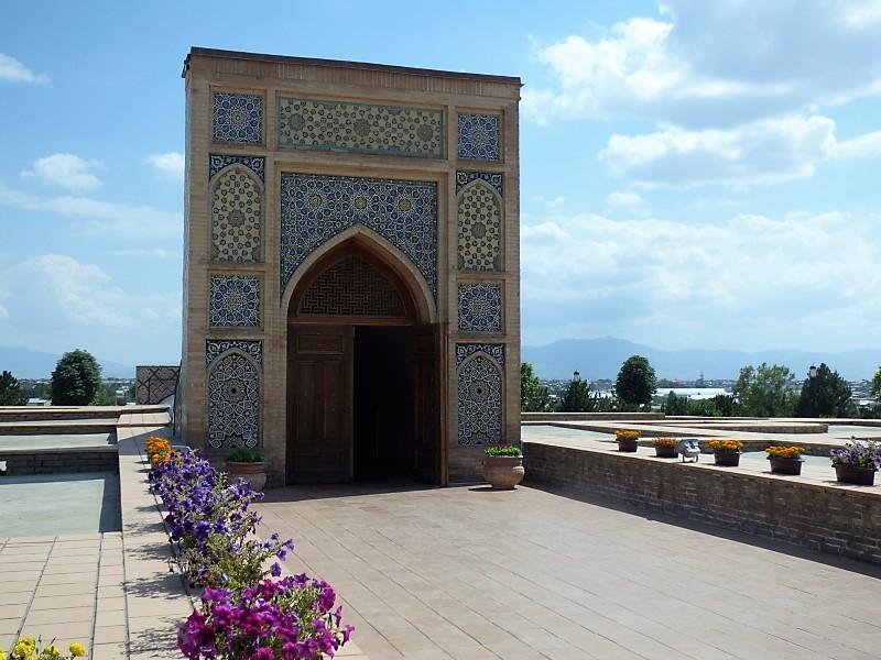 735 Le site de l'observatoire astronomique de Samarkand