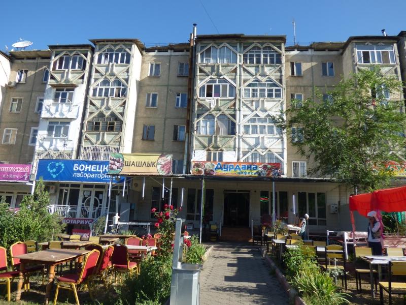742 Osh ; vieux immeubles soviétiques
