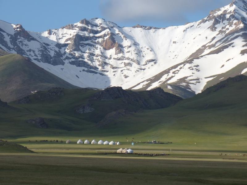 761 Campement de yourtes à 3000 m