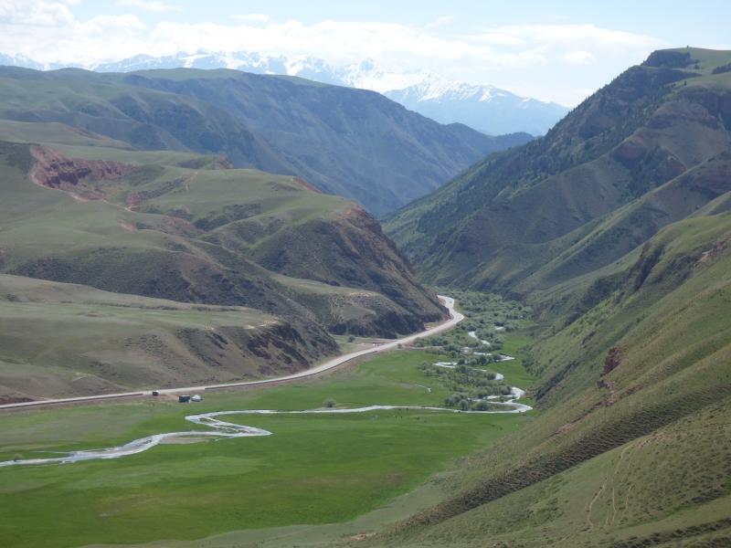 766 Paysage du Kirghizstan