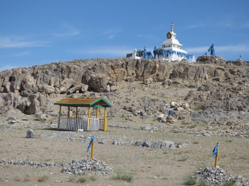 815 Stupa au bord de la piste